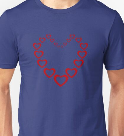 Heart Of Hearts Unisex T-Shirt