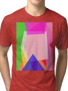 Minimalism Contrast Tri-blend T-Shirt