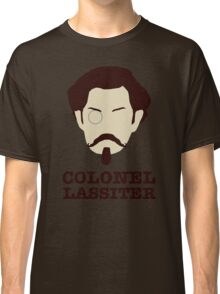 Psych - Colonel Carlton Lassiter: Civil War Buff Classic T-Shirt