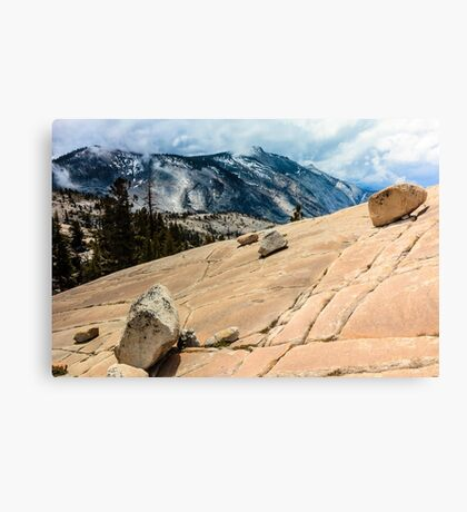 Olmsted Point Yosemite Canvas Print