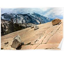 Olmsted Point Yosemite Poster