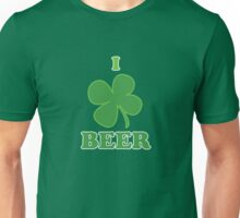 I Clover Beer St Patricks Day Unisex T-Shirt