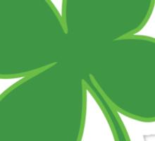 I Clover Beer St Patricks Day Sticker
