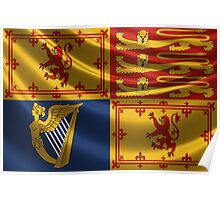 Royal Standard of the United Kingdom in Scotland Poster