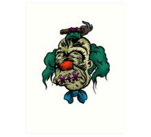 Shrunken Krusty Art Print