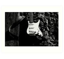 Stratocaster Guitar Art Print