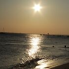 thorpe bay sunset by perggals