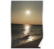 thorpe bay sunset Poster