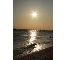 thorpe bay sunset Photographic Print