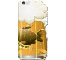 Save the fish iPhone Case/Skin