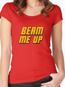 Beam Me Up Women's Fitted Scoop T-Shirt