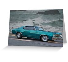 1970 Chevrolet Chevelle Greeting Card