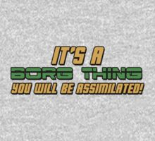 It's A Borg Thing, You Will Be Assimilated One Piece - Short Sleeve