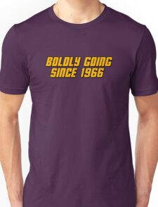 Boldly Going Since 1966 Unisex T-Shirt