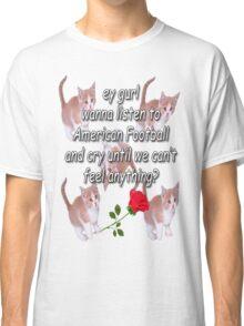 ideal date 4 ur qt emo gf/bf ;-) Classic T-Shirt