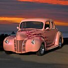 1940 Ford Coupe w/Flames by DaveKoontz