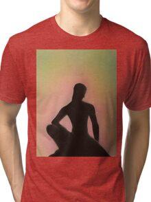 Crouching Buddha Tri-blend T-Shirt