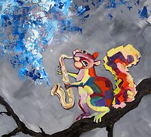 Squirrel Blues by Ellen Marcus