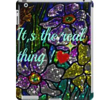 it's the real thing! iPad Case/Skin