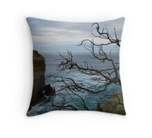 Scars of Time Throw Pillow