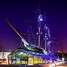 cutty sark by night by snapaway78