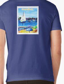Newport Beach Mens V-Neck T-Shirt