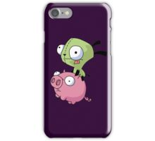 Gir Riding Pig  iPhone Case/Skin