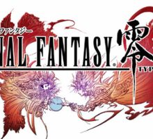 Final Fantasy Type - 0 Sticker