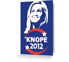 Leslie Knope for City Council Greeting Card