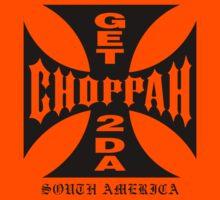 GET 2 DA CHOPPAH (Black) Kids Clothes