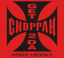 GET 2 DA CHOPPAH (Black) by BiggStankDogg