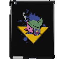 Cutie with shield and sword -black- iPad Case/Skin