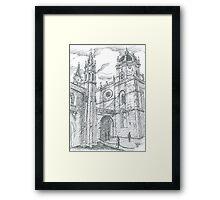 afternoon at Jerónimos Monastery Framed Print
