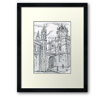 afternoon at Jerónimos Monastery Framed Print