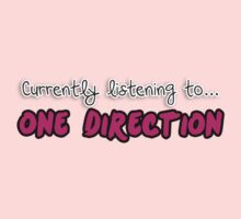 Currently listening to... One Direction by razaflekis