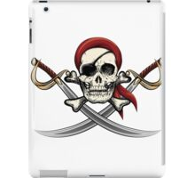 Skull with sabres iPad Case/Skin