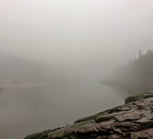 A Fog-bound Mispec River by Kathleen Daley