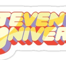 Steven Universe Logo Sticker