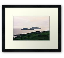 Dusk light over the Kerry Coast Framed Print