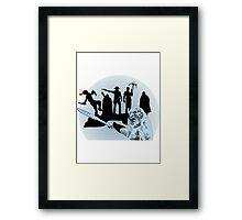 Walkers of a Different Kind Framed Print