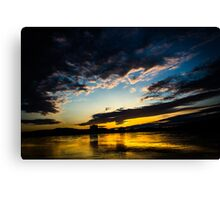Waking up with God Canvas Print
