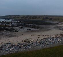 Portsoy beach by meeshj