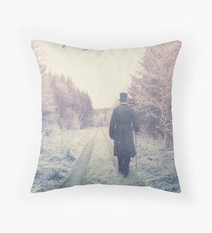 Mr Darcy Throw Pillow
