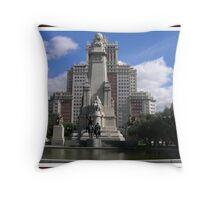 Plaza España...... Throw Pillow