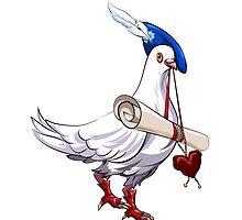 Dove Love messenger by Gertot1967