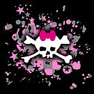 Scene Skull Splatter by Roseanne Jones