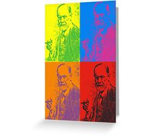 Freud Pop Greeting Card