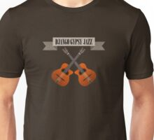 Django Gypsy Jazz Unisex T-Shirt