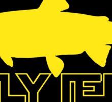 FlyJedi Trout Sticker
