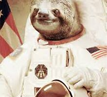 Astronaut Sloth by Joeytacos